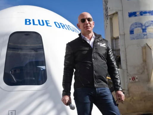 $28m was the price for a spare seat on space flight with Jeff Bezos