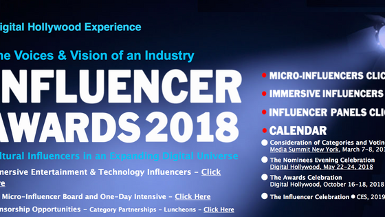 Digital Hollywood Influencer Awards