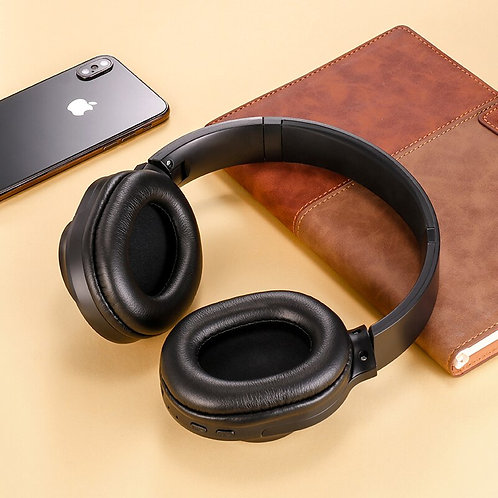 Bluetooth Wireless Headphones Portable Stereo Headset With Mic