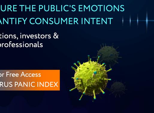 Cognovi Labs Coronavirus Panic Index