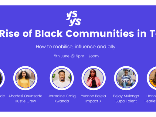 The Rise of Black Communities in Tech: How to mobilise, influence and ally
