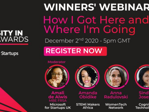 Diversity in Tech Awards Showcase
