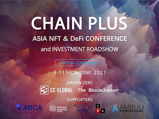 Asia NFT & DeFi Conference and Investment Roadshow 2021