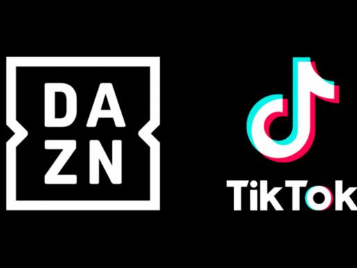 DAZN and TIKTOK Launch New Football Hub In Germany