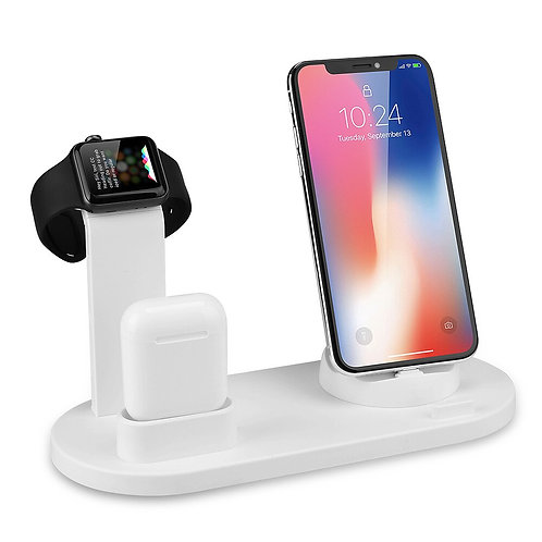 Mobile Phone Charger Stand Watch Charger 3 in 1 for iPhone Airpods