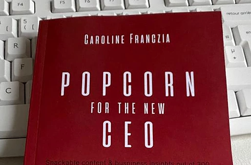 Popcorn for the New CEO - Book Review
