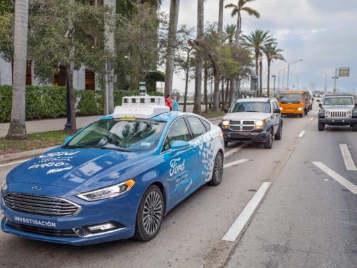 Ford 2022 - autonomous vehicle