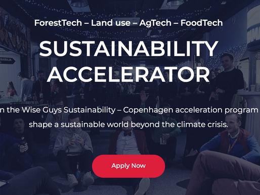 Sustainability Accelerator -` Wise Guys