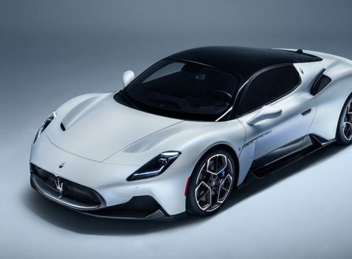 Maserati new supercar