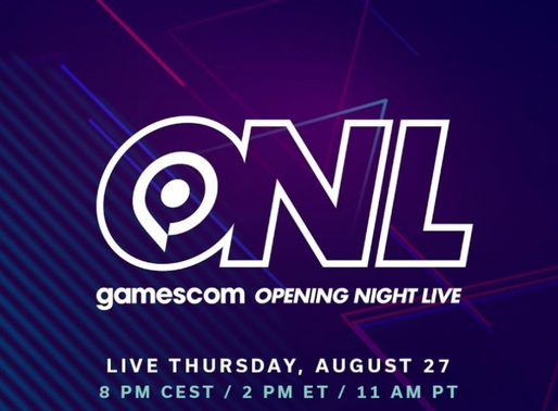 Experience the Opening Event of Gamescom 2020 in a live stream