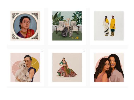"""I urge everyone to maximize on leveraging social media"" - Naina Hussain, Illustrator and Co-Founder"