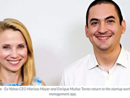 Former Yahoo CEO Marissa Mayer's finds the bright side of tech