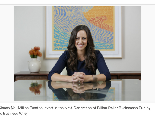 Jesse Draper of Halogen Ventures Closes $21 Million Fund to Invest in the Next Generation