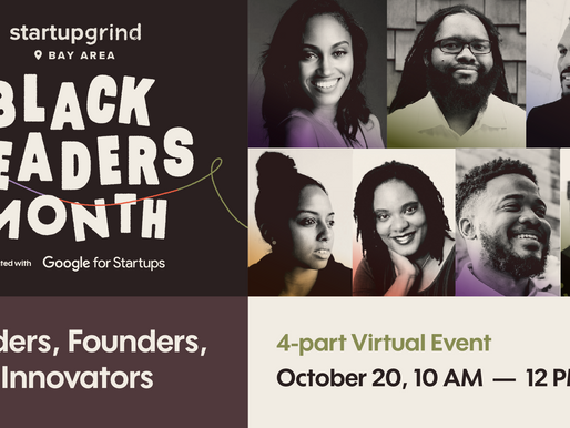 Black Leaders Month: Funders, Founders, and Innovators