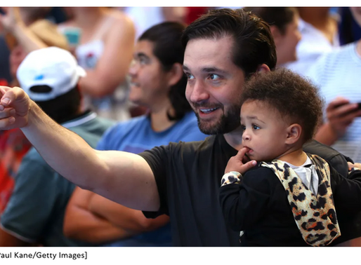 Alexis Ohanian: Why now is the time to destigmatize paternity leave, for good