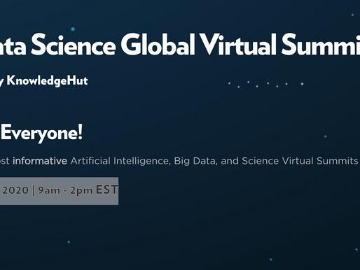 AI/Data Science Global Virtual Summit