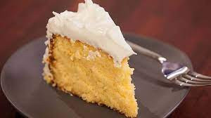 Lime and Coconut Island Cake