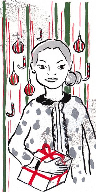 長野ともこ|筆画。味わいのある筆のタッチが優しく情景を描写します。