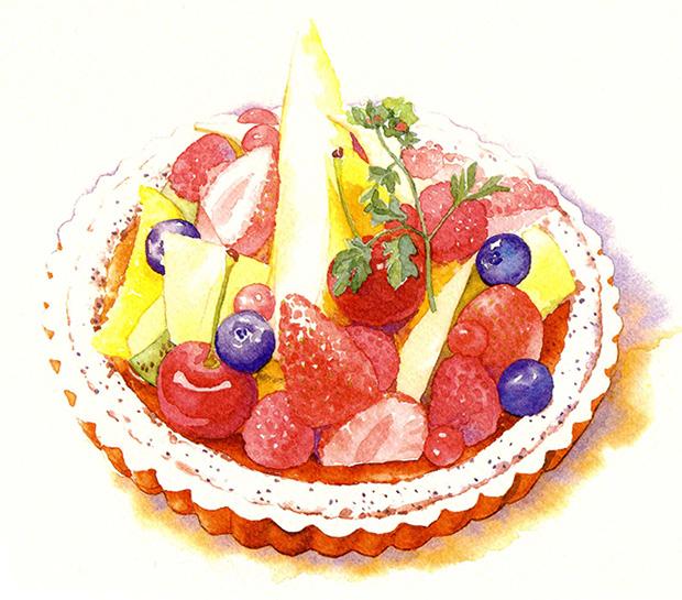 丸山正仁|水彩やペン画で描く風景や食べ物は上品な作品として評判高い