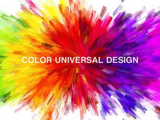 【カラーユニバーサルデザイン①】 CUD 対応イラスト●色覚への配慮