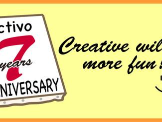 【創立7周年〜クリエイティブをもっと楽しく!】