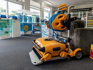 Tropical Pool Maintenance Robot