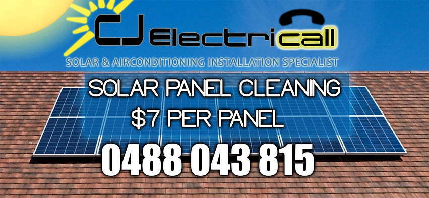 CJ Electricall Solar Panel Cleaning