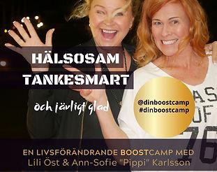 Boostcamp Eskilstuna med Lili Öst och Ann-Sofie Karlsson