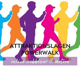 ATTRAKTIONSLAGEN POWERWALK online www.li