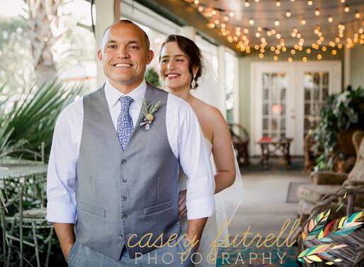 Moriah & Jason's Wedding Day in the Gardens