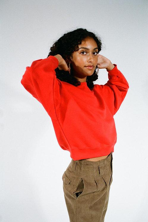 Sweat-shirt Baadal rouge