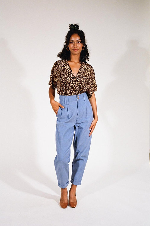 Pantalon Coral bleu ciel