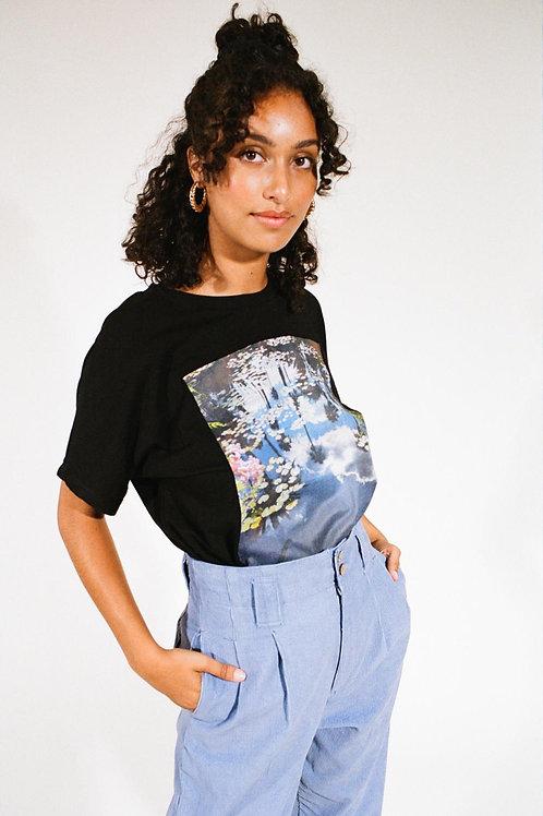 T-shirt Casa noir
