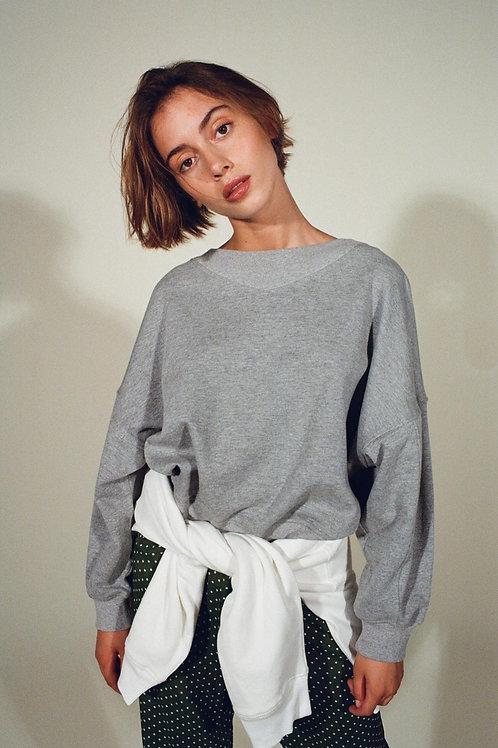 Sweat-shirt Baadal gris