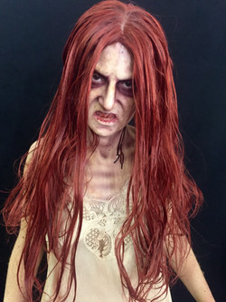 Red Haired Ghost Makeup