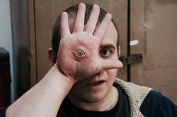 Pale Man Hand Prosthetic