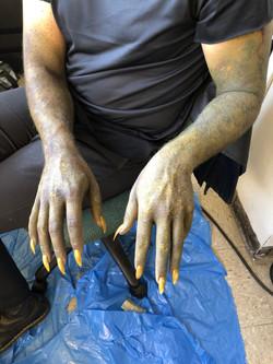 Demon Creature Hands