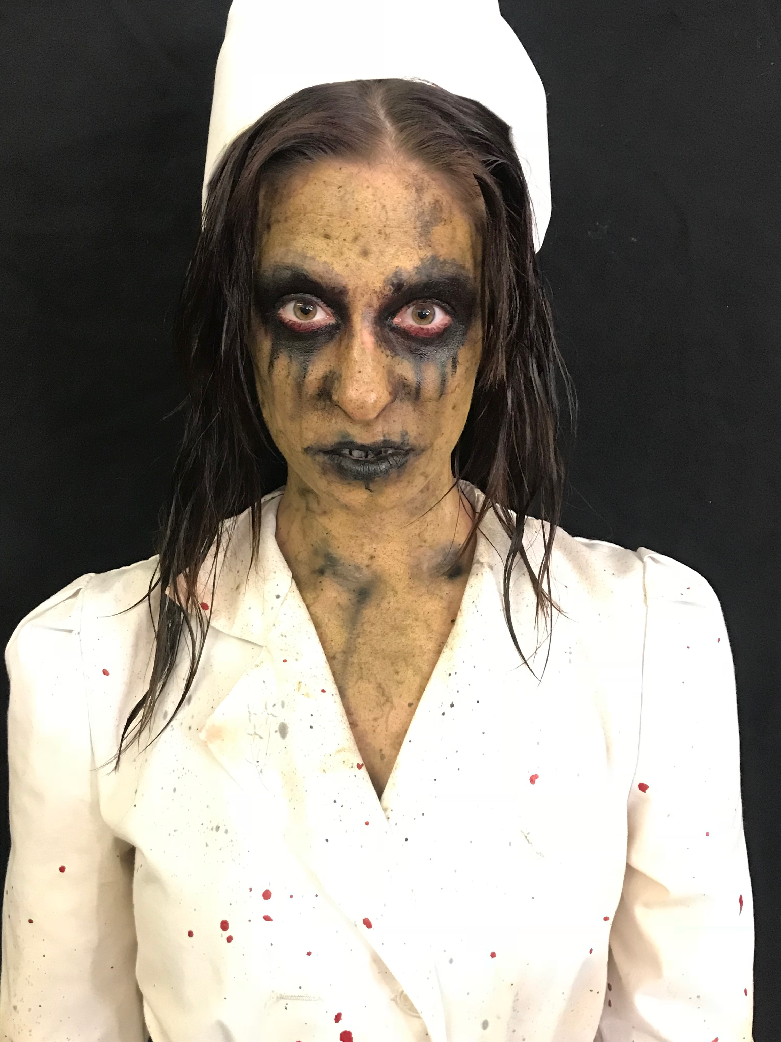 American Horror Story Nurse Makeup