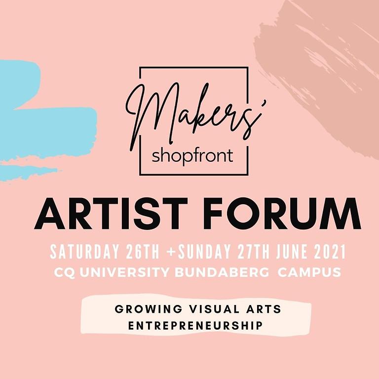 Makers' Shopfront Artist Forum