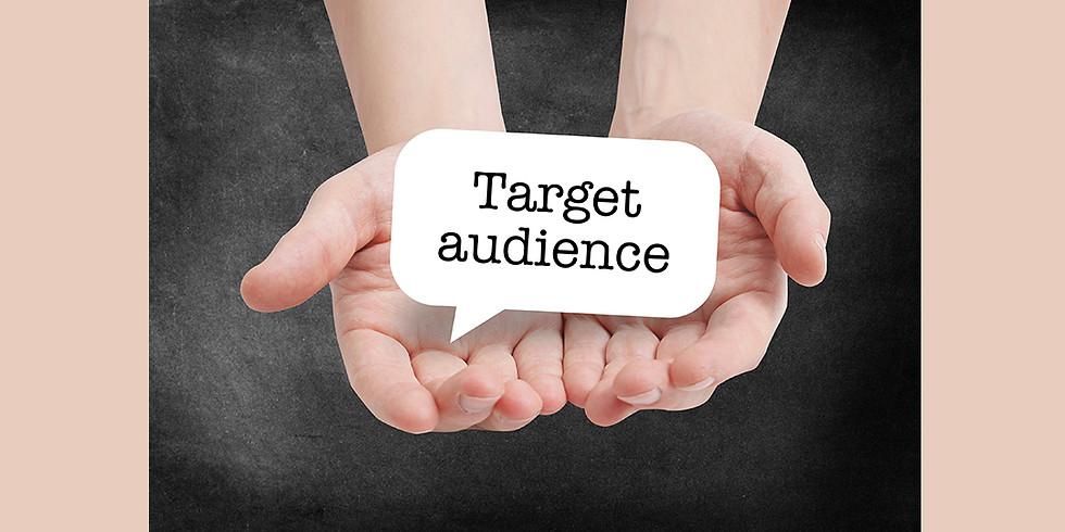 CQ Shopfront Business for Creatives Online Workshop 8 - Target Audience Profiling