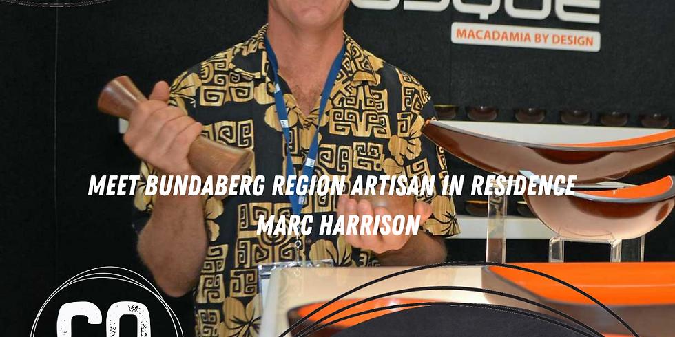 WEBINAR - Meet Bundaberg Region Artisan in Residence Marc Harrison