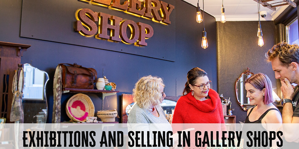 CQ SHOPFRONT WEBINAR SERIES - Exhibitions and Selling in Gallery Shops