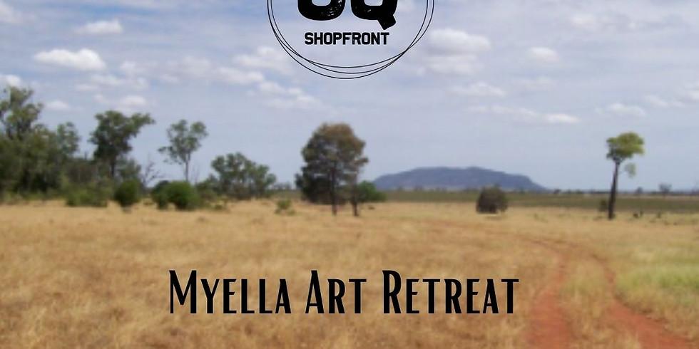 Myella Art Retreat with Adele Outteridge - CQ Shopfront Artisan in Residence