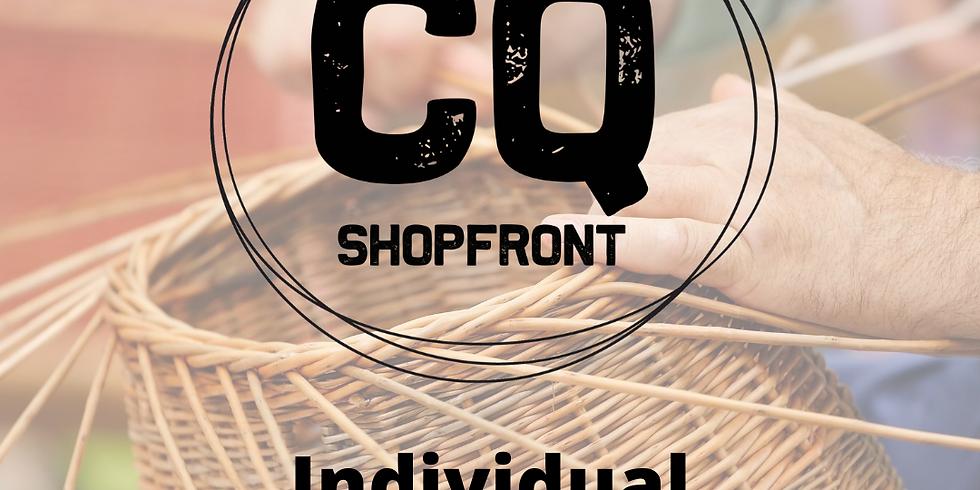 CQ Shopfront Individual Mentoring Sessions