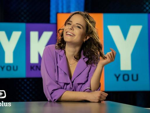 Anke Goergen bij TV PLUS.