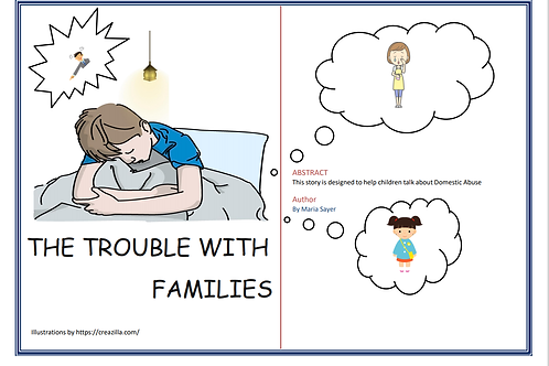 Barney's story the trouble families (about Domestic Abuse)