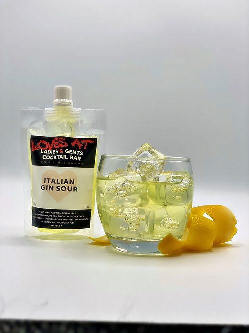 Italian Gin Sour -110ml