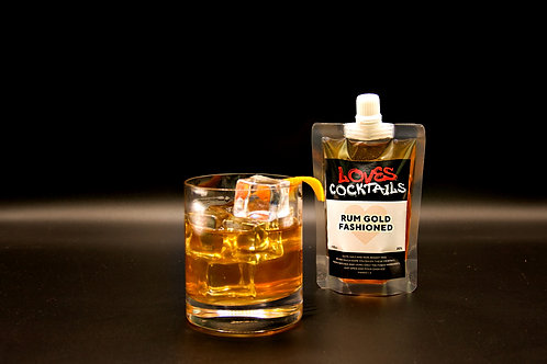 Rum Gold Fashioned - 110ml