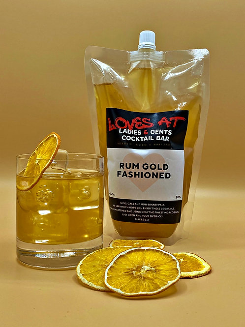 Rum Gold Fashioned - 550ml