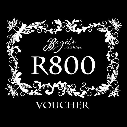 Bayete Spa R800 Voucher